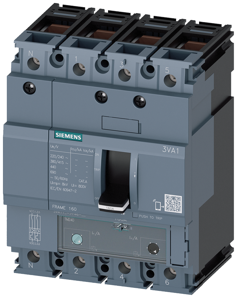 Circuit Breaker 3VA1163-6GF46-0AA0 product photo