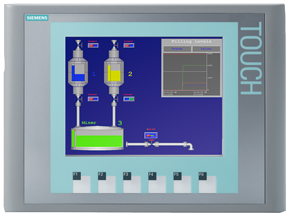 SIPLUS HMI KTP600 Basic color PN -25 ... +60 °C based on 6AV6647-0AD11-3AX0