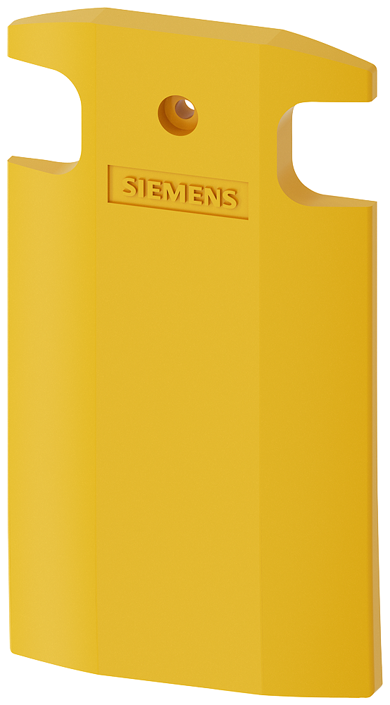 Cover yellow for position switch metal XL, 56 mm wide