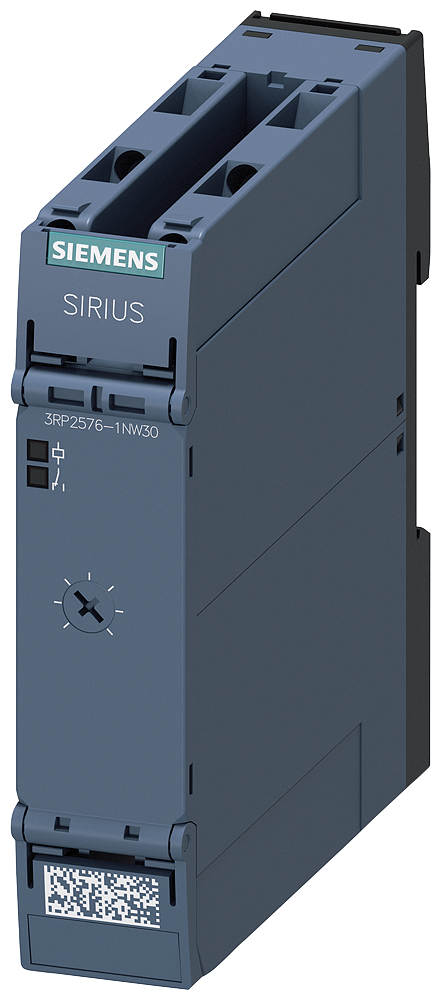 Timing relay, star-delta (wye-delta), 1 NO delayed, 1 NO instantaneous, 1 time range 3-60s