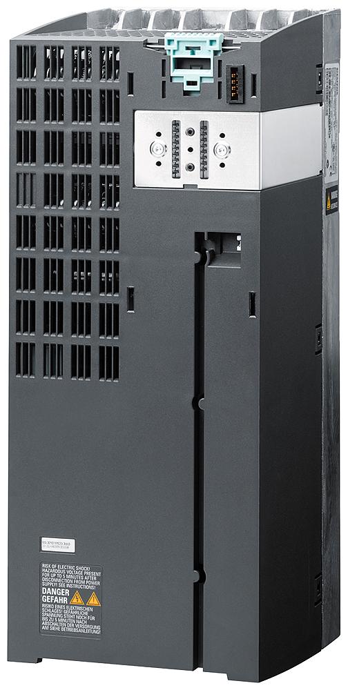 SIPLUS G120, силовой модуль PM240-2 FSC 15 кВт, силовой модуль PM240-2 без фильтра, -25 ... +50°C, со стойким покрытием, на основе 6SL3210-1PE23-3UL0 . встроенный тормозной резистор 3AC380-480V +10/-10% 47-63HZ, выходная перегрузка: 11 кВт для 200% 3 с, 150% 57 с, 100% 240 с