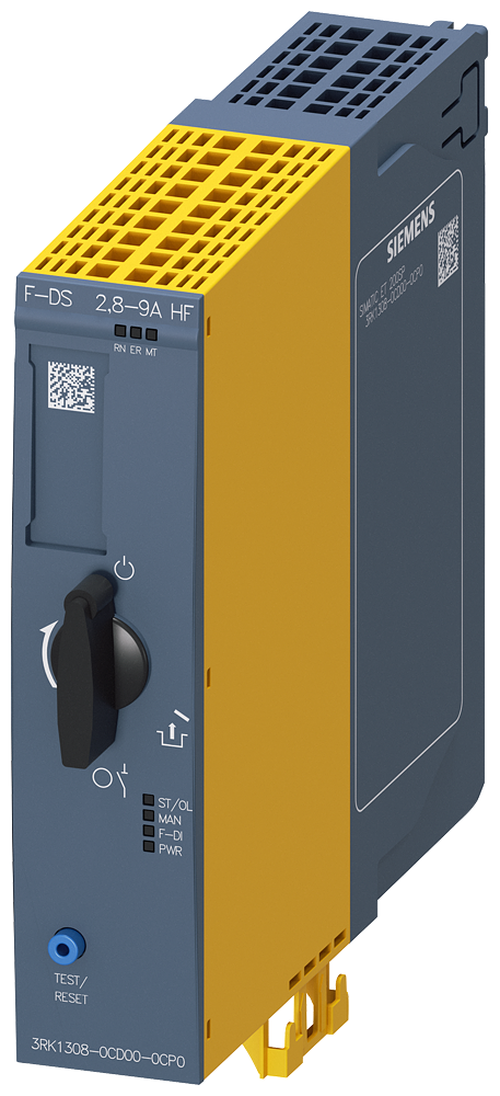 Fail-safe direct on-line starter, electronic overload protection up to 4 kW/400 V, 2.8-9 A