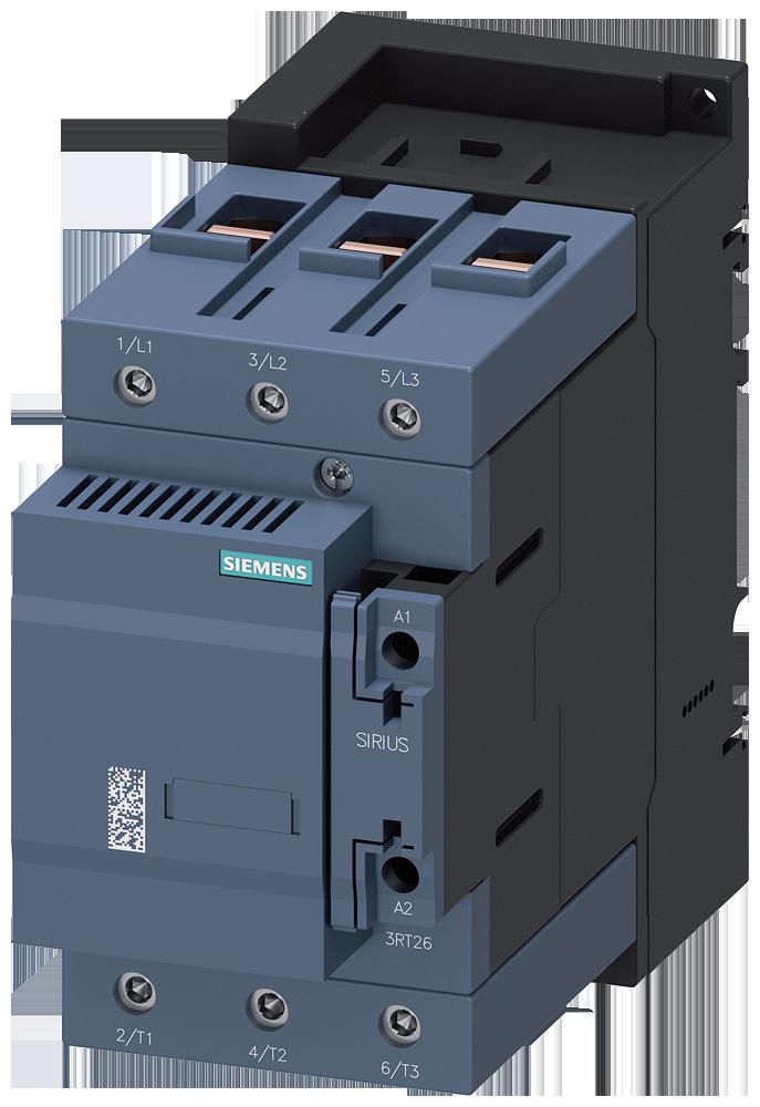 Capacitor contactor, AC-6b 75 kVAr/400 V, 2 NC, 83-155 V AC/DC, S3, screw terminal