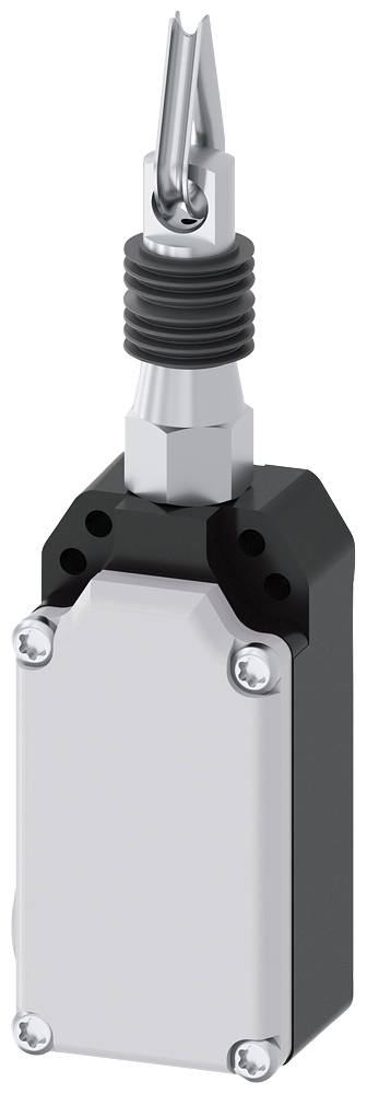 Cable-operated switch for 5 m spring 100 N, Metal enclosure, 2x M20 x1.5  1NO+1NC, without latching, only cable-operated function, maximum actuating f