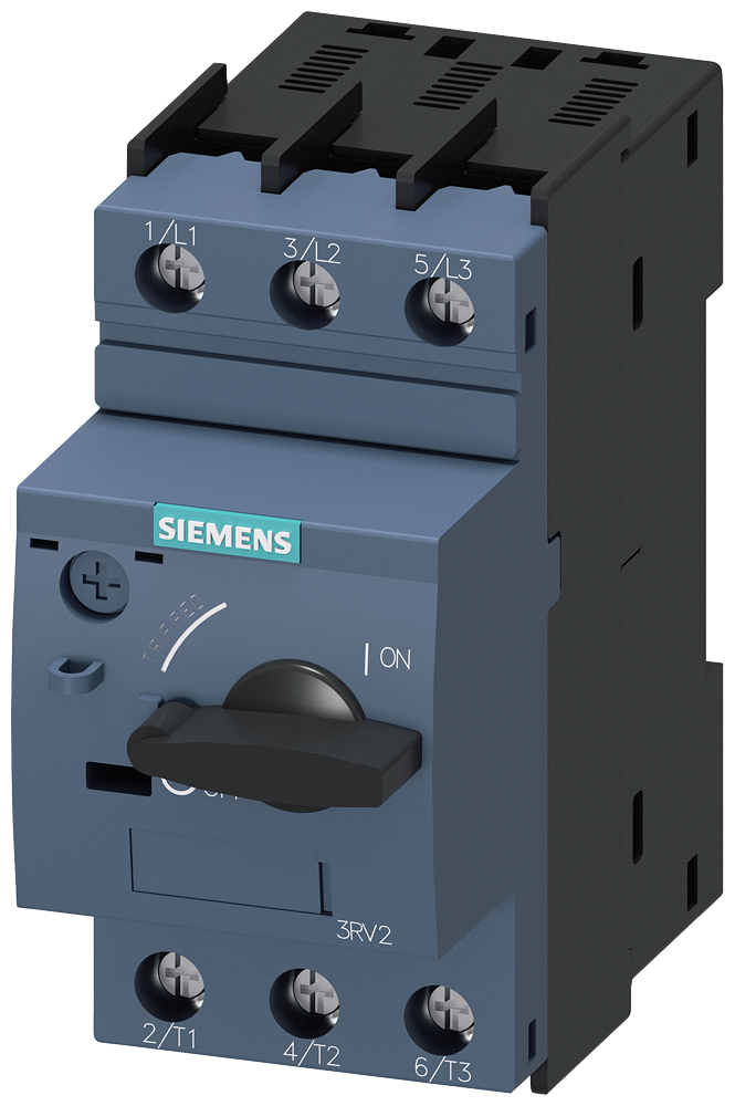 Siemens Industry 3RV20211HA10 Size S0 5.5 to 8 Amp Screw Connection Circuit Breaker for Motor Starter Protection