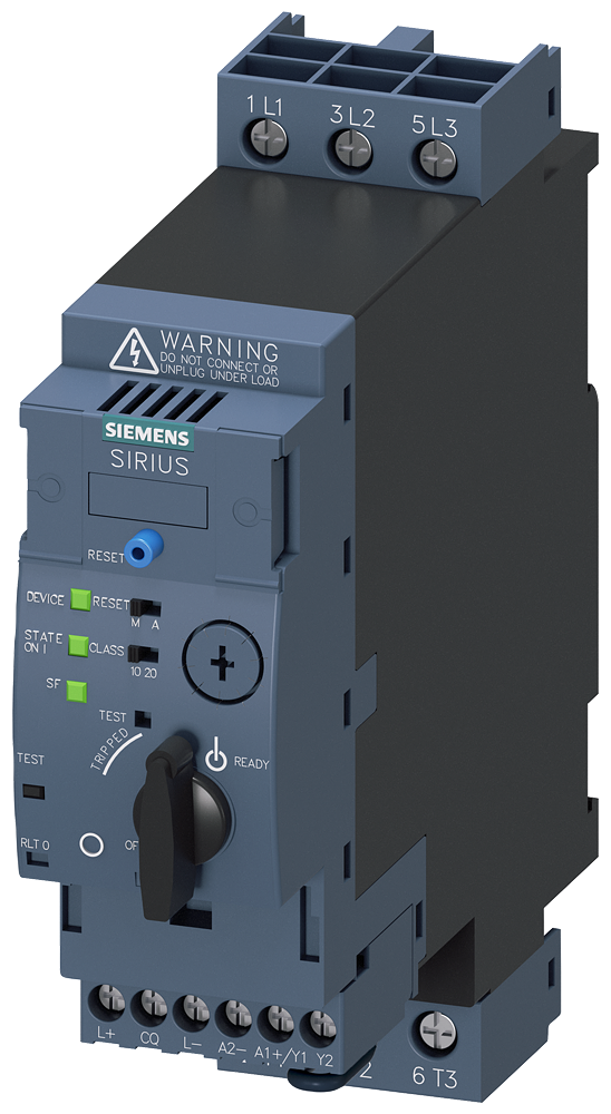 SIRIUS compact load feeder direct on-line starter for IO-Link, 690 V, 24 V DC, 0.1-0.4 A