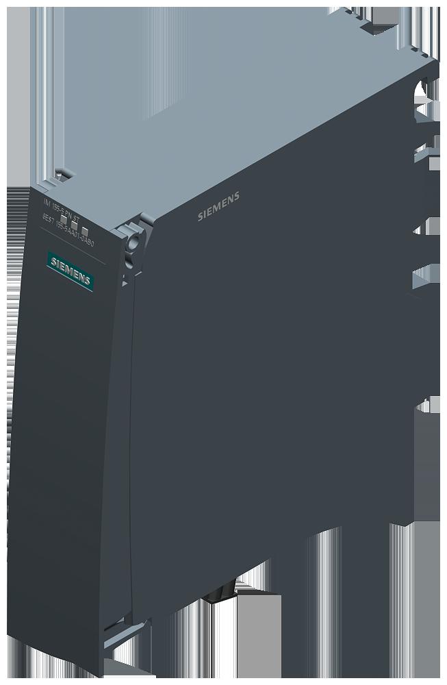 SIMATIC ET 200MP. PROFINET IO-устройство — интерфейсный модуль IM 155-5 PN ST для электронных модулей ET 200MP, до 12 модулей без доп. системных БП PS, до 30 модулей с доп. системными БП PS, SHARED DEVICE, MRP, IRT >=0.25 мс, изохронный режим, обновление ПО, I&M0...3, быстрый запуск,