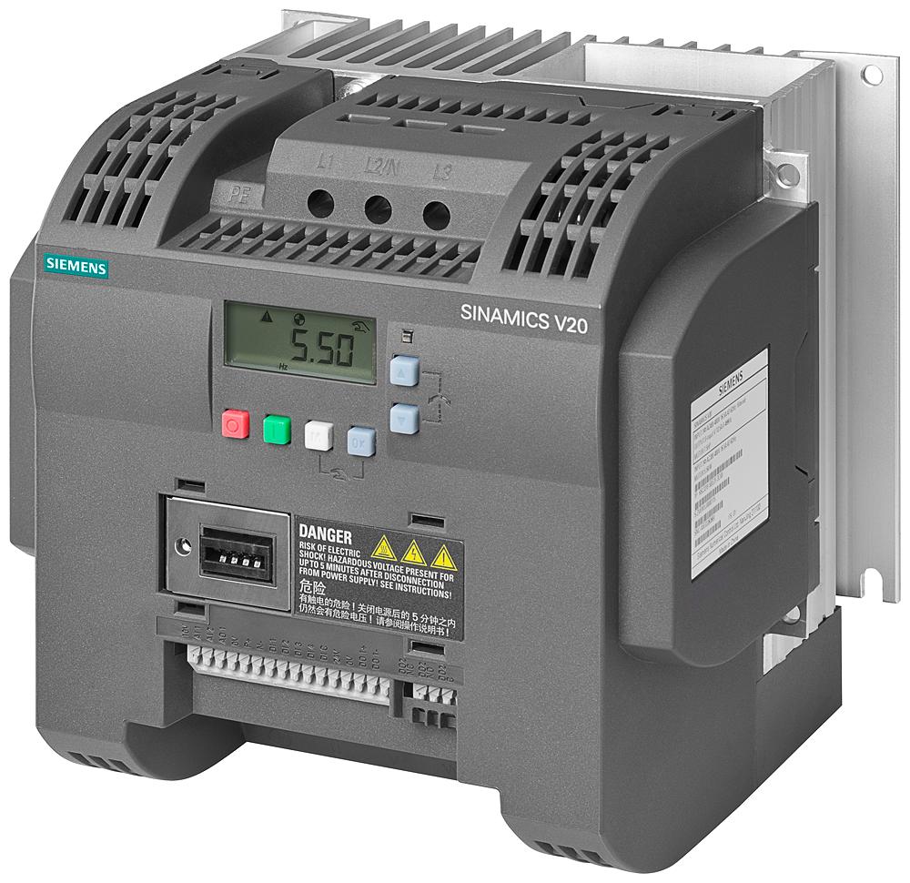 SINAMICS V20, IP20 / UL open type, FSC, 200-240 V 1 AC, 2,20 kW