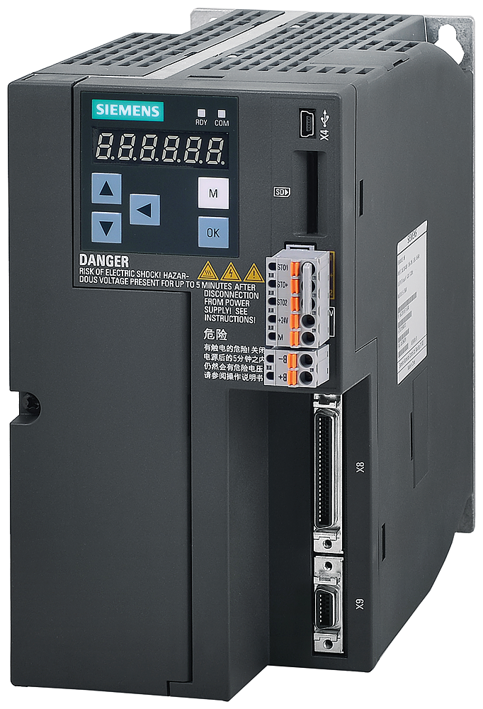 SINAMICS V90, IP20 / UL open type, FSB, 380-480 V 3 AC, 2,50 kW