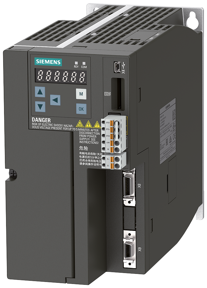 SINAMICS V90, IP20 / UL open type, FSB, 380-480 V 3 AC, 2,00 kW