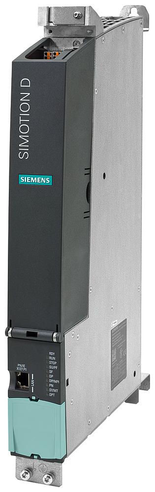 SIMOTION Drive-based Control Unit D435-2 DP/PN  programmable motion controller  STANDARD performance  interfaces: 12 DI, 16 DI/DO, 6 DRIVE-CLiQ, 2 PRO