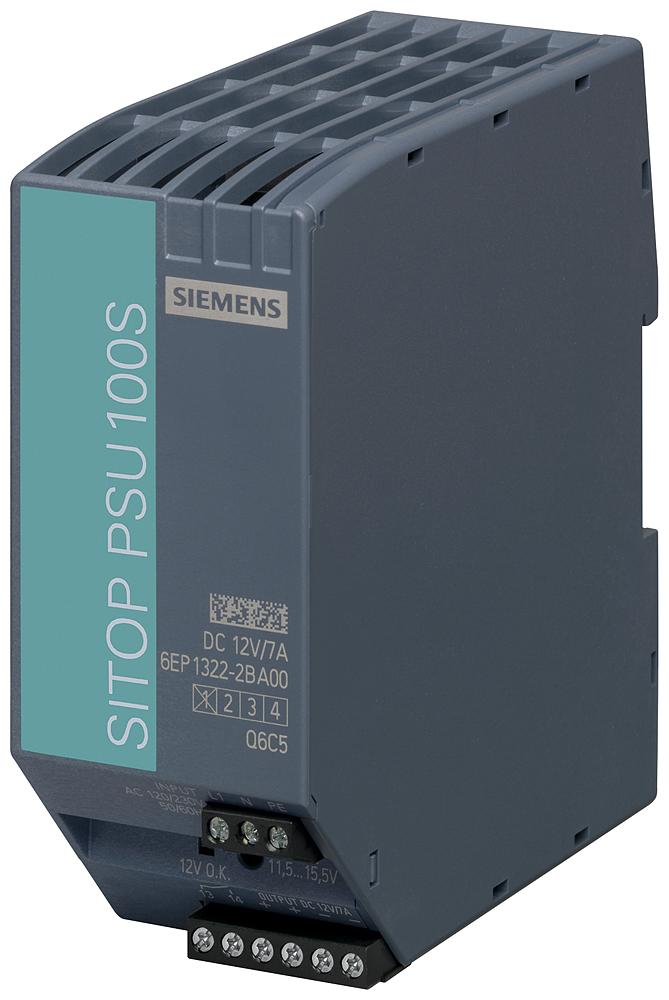 Power supply SITOP PSU100S, single-phase 12 V DC/7 A