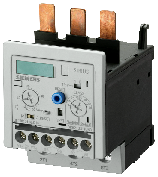 Overload relay 6...25 A For motor protection Size S2, Class 5...30 Contactor mounting Main circuit: Screw terminal Auxiliary circuit: Screw terminal M