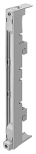 СОЕДИНИТЕЛЬНЫЙ МОДУЛЬ 18MM WIDE FOR 4 CONDUCTORS (PE/N) UP TO 16MM2 WITHOUT CONNECTING CABLE, TERMINAL POSITION ON TOP AND AT BOTTOM 60MM SYSTEM, 5 + 10MM BUSBAR THICKNESS