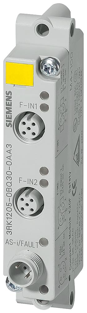 ASIsafe compact module K20F digital safety, 2 F-DI, IP67 2 x input for mechanical sensors 2 x M12 socket