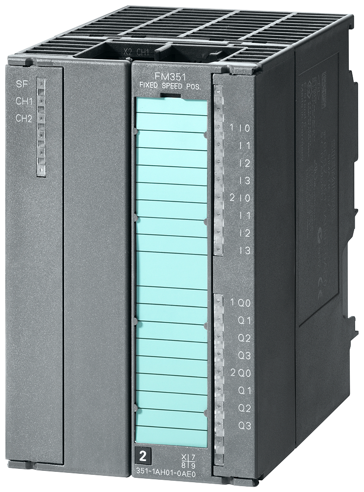 SIMATIC S7-300, positioning module FM 351 for rapid/slow traverse Drives incl. configuration package on CD