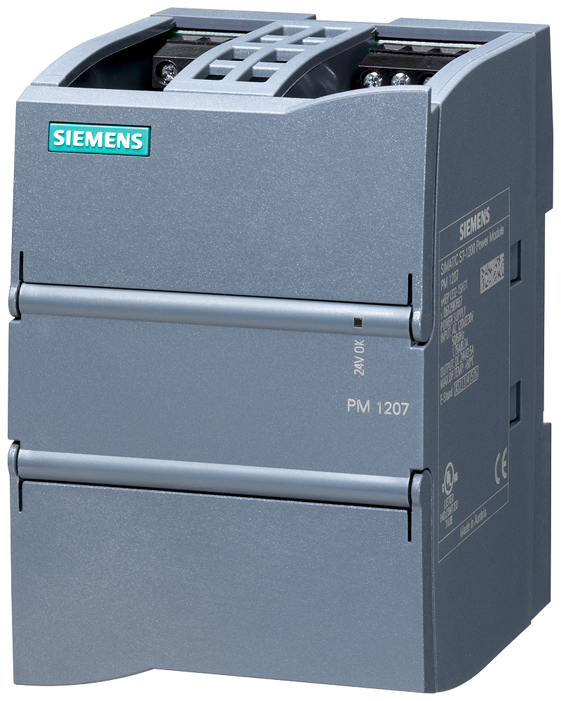 Load power supply SIMATIC PM1207, single-phase 24 V DC/2.5 A