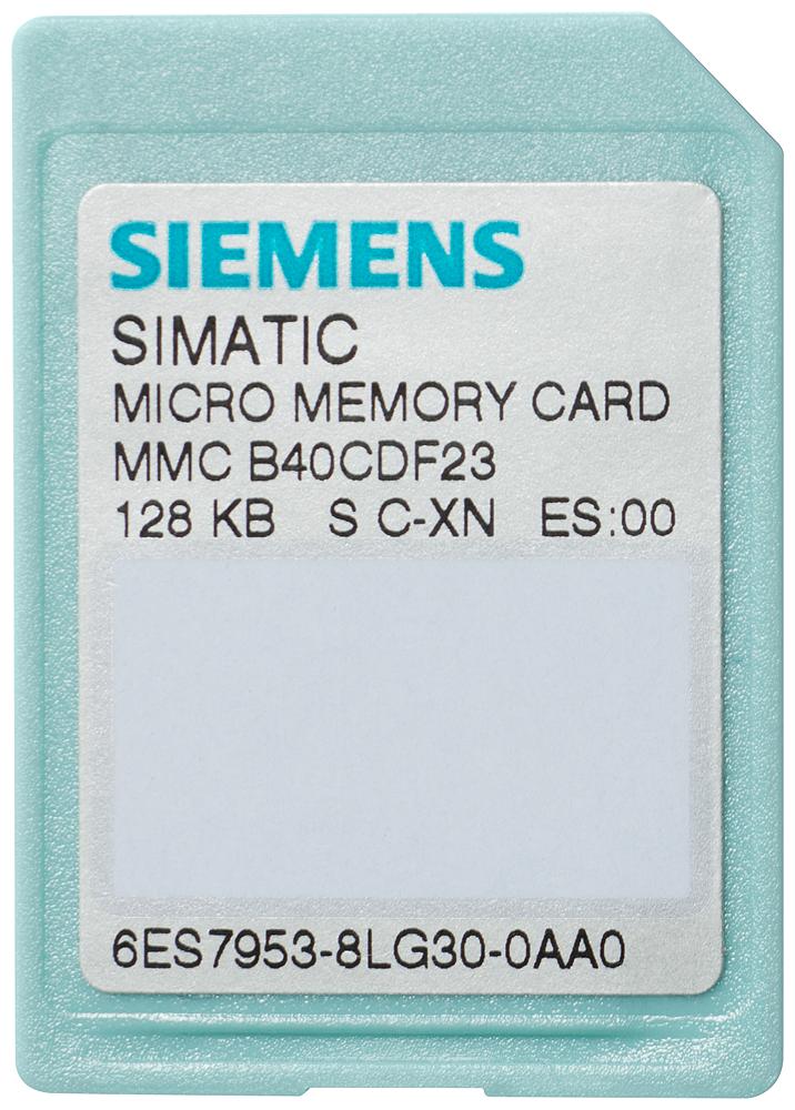 SIA 6ES79538LF310AA0 S7 MICRO MEMORY CARD. 64KB
