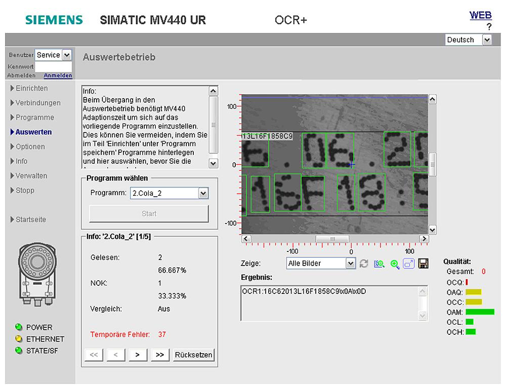 TEXT-GENIUS, лицензия для распознавания текста для кодосчитывающий систем MV440, лицензия поставляется на USB носителе, так же может быть загружена на устройстве VIA ALM,